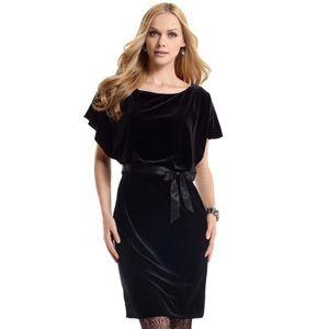 White House Black Market Velvet Dress NWT